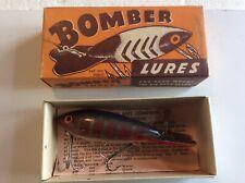 New listing Vintage Bomber Lure, Rare 1949 Production Era Lure In Original Box