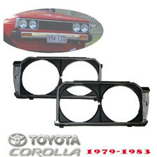 New HeadLight Lamp DX Surround Housing Trim JDM Toyota Corolla KE70 TE71 TE72