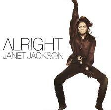 "Janet Jackson Alright (Hip Hop Mix), (House Mix) Uk 12"""