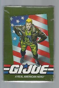 1991 IMPEL HASBRO  GI JOE  FACTORY SEALED BOX 36 PACKS