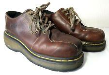 Dr. Martens 3A54 Womens Brown 5 Eyelet Platform Oxfords Shoes Size US 6 / UK 4