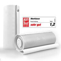 NINETEC Impulse Bluetooth 20W NFC Speaker Lautsprecher Echtleder 3D Sound Weiß