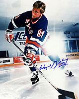 Wayne Gretzky Autographed / Signed 8x10 Photo - New York Rangers