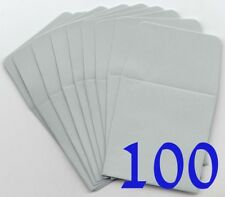 Guardhouse Gray Archival Paper Coin Envelopes 2x2 100 Pack Safe Storage New Lot