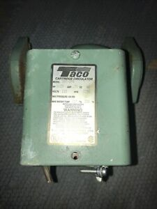 Taco 007-ZF4 Cast Iron Hot Water Circulator Pump,1/25 HP