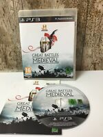 History Great Battles Medieval PS3 Playstation 3 **FREE UK POSTAGE**