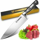 Super Sharp Chef Knife 8 inch High Carbon German Stainless Steel Kitchen Knife