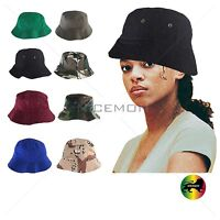 Unisex Bucket Hat Cap100% Cotton Twill Bucket Hat Cap Soft Comfortable 1SZ Fit