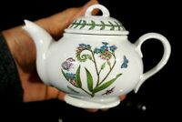 Beautiful Portmeirion Botanic Garden Forget Me Not Individual Teapot