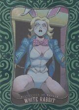 2014 Marvel Dangerous Divas 2 Emerald Parallel card 42 White Rabbit 097/100 RARE