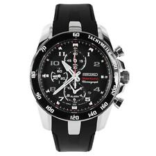 Seiko SNAE87 New Original Sportura Chronograph Alarm Analog Mens Watch WR 100M