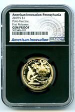 2019 S $1 PENNSYLVANIA NGC GEM PROOF AMERICAN INNOVATION DOLLAR FIRST RELEASES