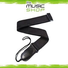 D'Addario Planet Waves Black Poly Acoustic Quick Release Guitar Strap- PWSPA200