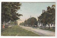 [50926] OLD POSTCARD PARK AVENUE IN SANFORD, FLORIDA