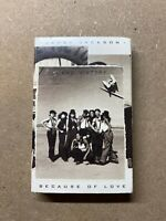JANET JACKSON LANE VICTORY BECAUSE OF LOVE FUNKY BIG SINGLE CASSETTE TAPE(D2A4)