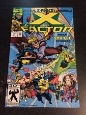 X-factor#77 Incredible Condition 9.4(1992) Cannonball App,Peter David Story!!