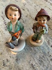 HUMMEL HUMMELS TWO UMBRELLA BOYS    WONDERFUL GROUPING AND GREAT GIFTS