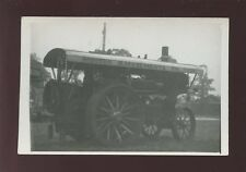 Haulage TRACTION ENGINE S.Squire's Fowler Illuminator c1930/40s? RP PPC