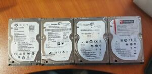 500Gb Various 2.5 thin Drives x 9 System Pull lot 12