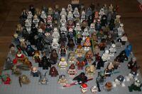 111 verschiedene LEGO Star Wars Minifiguren - NEU - Watto, Qui-Gon, Leia, Vader