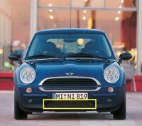 New Genuine MINI R50 Front Lower Bumper Black Grill 0698354 OEM