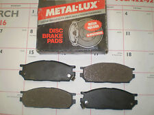 AutoSpecialty Metal-Lux FRONT DISC BRAKE PADS COLT SUMMIT MIRAGE MKD534