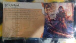 JAYA BALLARD Promo - Heroes of Dominaria Board Game piece - Magic / MTG