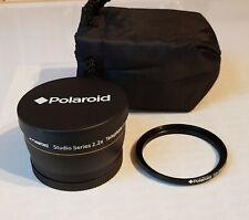 Polaroid Studio Serie 2.2 X Teleobjektiv 58 mm incl. Adapterring 55-58 mm Lens
