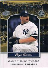 Upper Deck Roger Clemens Single Baseball Cards