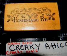 PSX HOMEMADE BY BORDER RUBBER STAMPS RETIRED