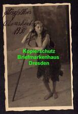 119054 AK Oberammergau Fotokarte 1930 Adamskind Darsteller Schauspieler Passions