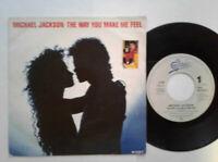 "Michael Jackson / The Way You Make Me Feel 7"" Vinyl Single 1987 mit Schutzhülle"