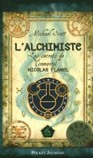 Livre de Poche l'alchimiste les secrets de l'immortel Nicolas Flamel  book