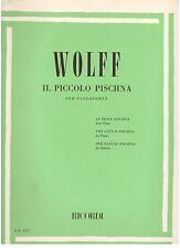 Wolff: Il Piccolo Pischna Per Pianoforte - Ricordi