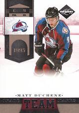 11-12 Limited Team Trademarks Matt Duchene /299