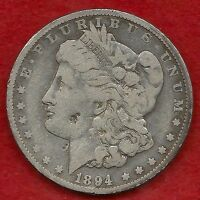 Better Date Key 1894O New Orleans Mint Morgan Silver Dollar