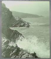27 Lantern Glass Slide West Pentire Crantock Newquay Cornwall Photo pre-1920s