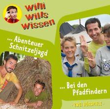 Schöne CD - Willi wills wissen 9 – Bei den Pfadfindern + Abenteuer Schnitzeljagd