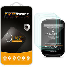 [3-Pack] Supershieldz Tempered Glass Screen Protector for Garmin Edge 530 / 830