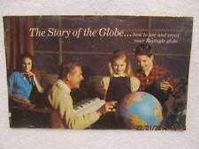 Vtg. Booklet Story of the Globe 1969 by Replogle 31 Pages W/Color Illustrations