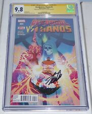 Deadpool vs. Thanos #4 CGC SS Dual Signature Autograph STAN LEE ROB LIEFELD Book