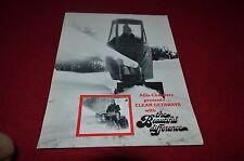 Allis Chalmers Snow Blowers Dealers Brochure YABE11