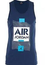 Nike - Air Jordan Retro V Stencil - French Blue/Navy/White - Tank Top - Size XL