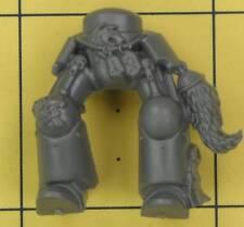 Warhammer 40K Marines Espaciales Espacio Lobos Wolf Guardia Terminator piernas (C)