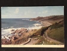 Vintage Postcard - Devon #224 - RP Woolacombe , Crunta Pool & Morte Point