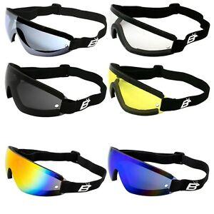 NEW - WING Cycling MTB Downhill Goggles |100% UV400 ShatterProof Lenses