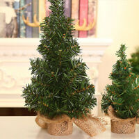Newly Mini Christmas Tree Desk Table Decor Festival Party Ornaments Xmas Gift~~-