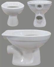SOLO Stand-Tiefspül-WC weiss mit Spülrand Toilette Klosett Abbort Klo