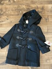 Nwt Baby Boy Girl Black Winter Coat 18 Month