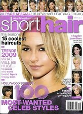 Short Hair magazine Hollywood hair secrets 100 star styles Best haircuts Curls